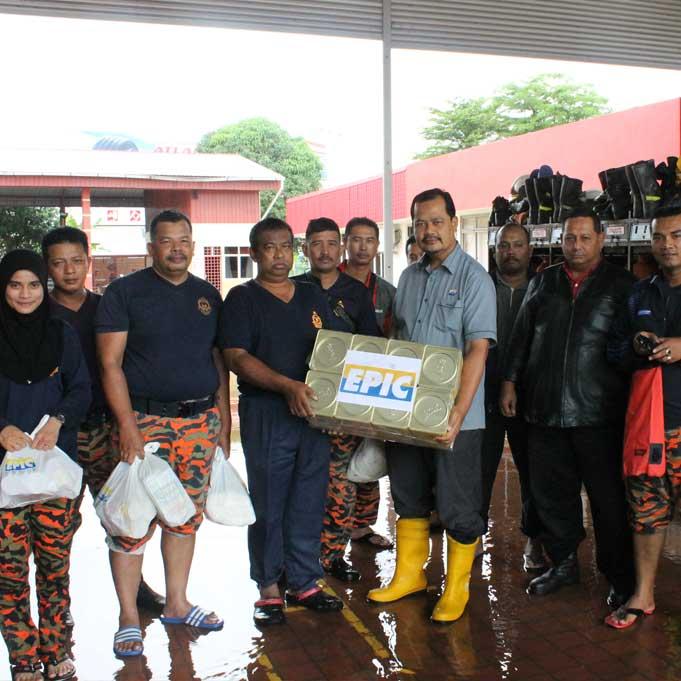 epic csr misi bantuan banjir 2014