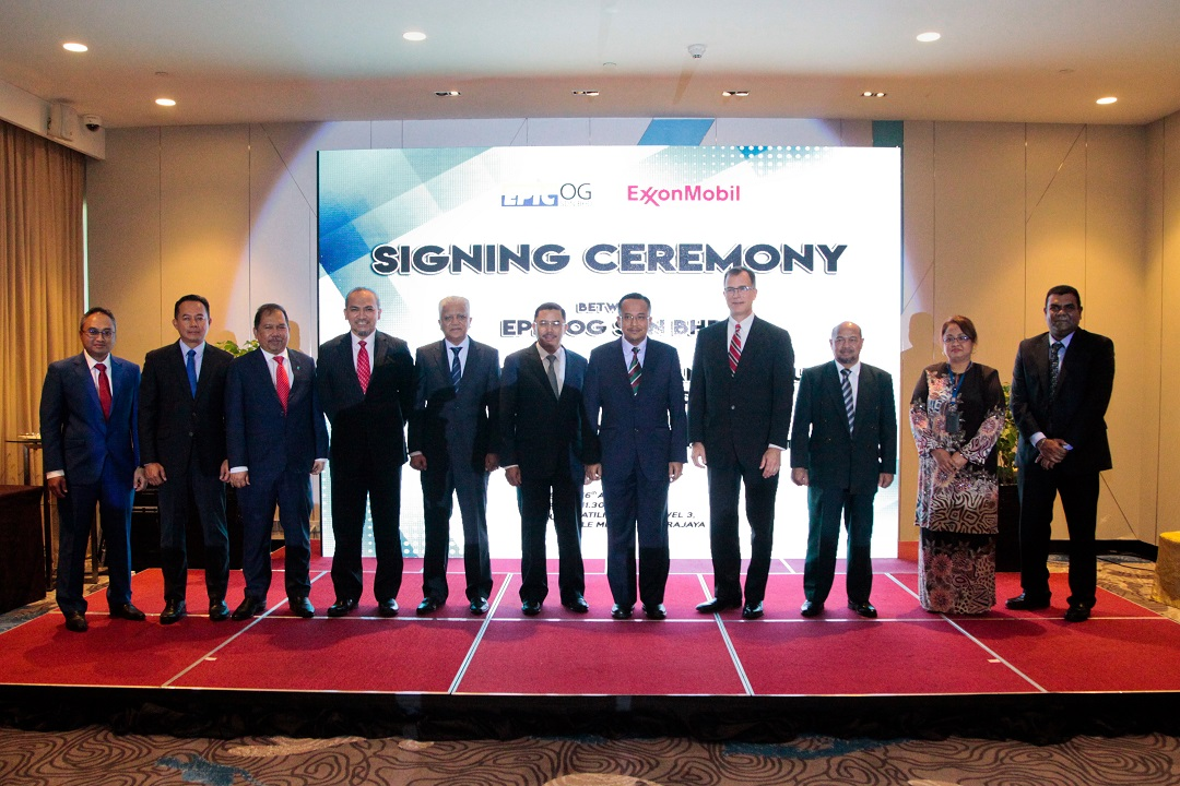 Signing Ceremony Between EPIC OG Sdn Bhd and EXXONMOBIL